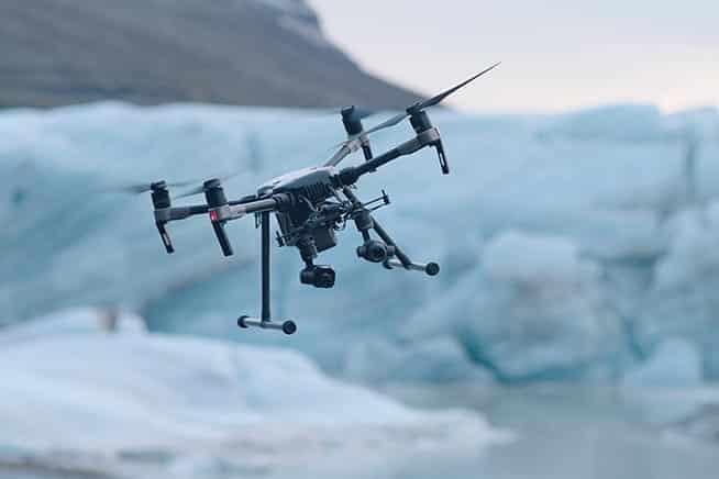 lavoro in regola con drone
